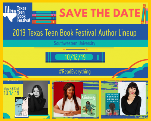 texas teen book festival flyer