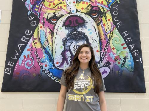 Audrey Martinez-FRESHMAN HOSA  Member. Qualified for State placing #39 out of 1076 as online tester in Dec.2019