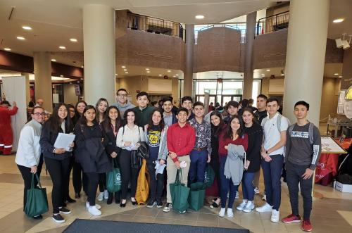 AHS Junior students attended the 11th Annual STEM Alliance hands-on workshopat Texas A&M International University.