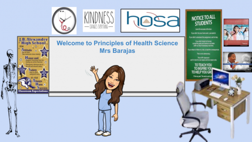 Course Description: The mission of the Principles of Health Science course is to give an introduction to Health Science that will inspire the students to continue education at an institution of higher learning thus enabling students to become productive providers in the healthcare field dramatically improving the quality of wellness in their community.