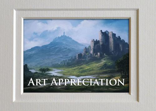 art appreciation banner