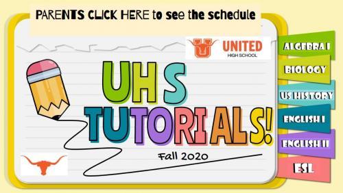 UHS Tutorial Parents