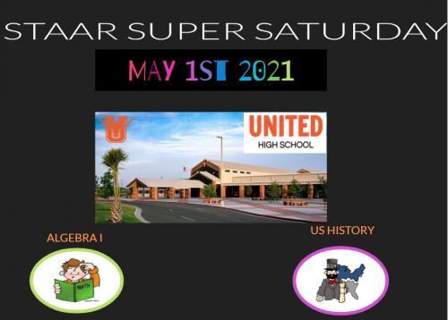 STAAR Super Saturday May 2021
