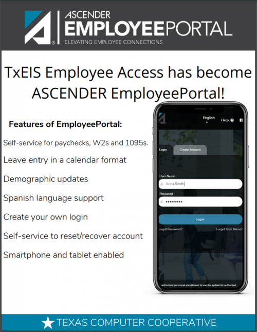 ASCENDER Employee Portal for Pay