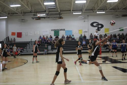 Middle School Lady Pirates Volleyball