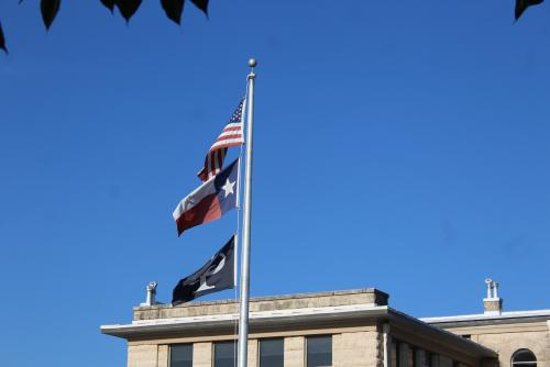 CPISD Flags Flying with Honor
