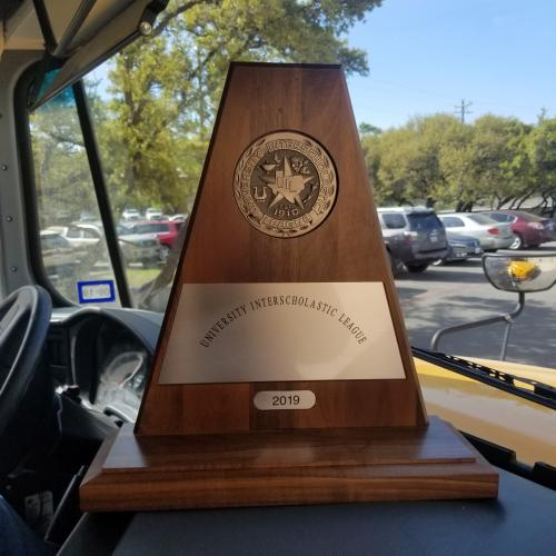 Shows 2019 Sweepstakes Trophy