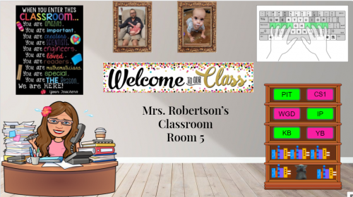 Mrs. Robertson's Classroom Virtual