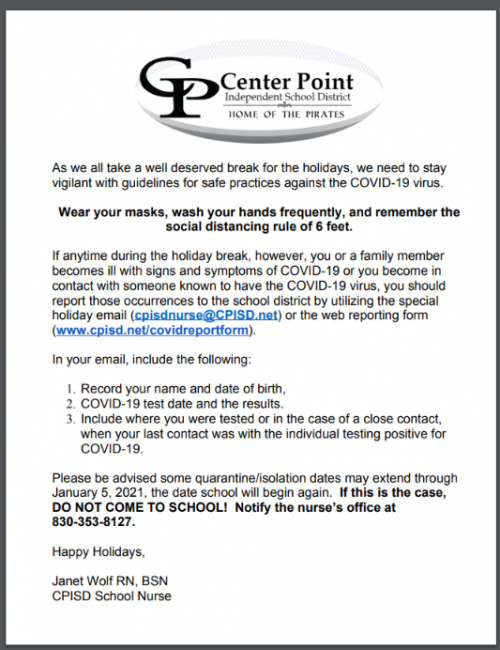 2020-12-16_CPISD_COVID_Holiday_Letter
