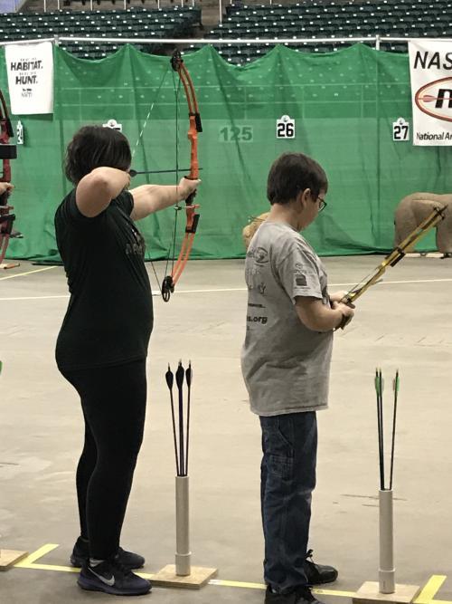 2017-2018 Archery Students