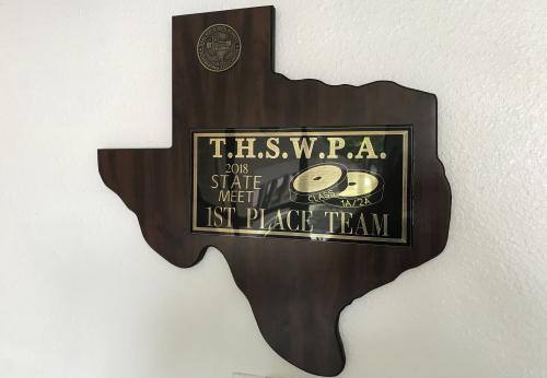 State Champ Plaque