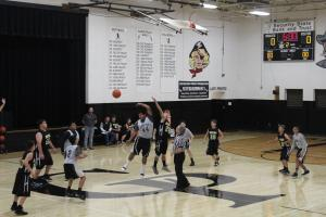 Middle School Basketball Game