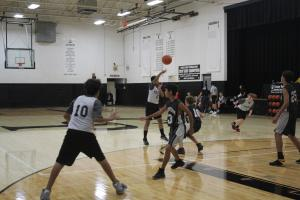 Middle School Boys Basketball Game