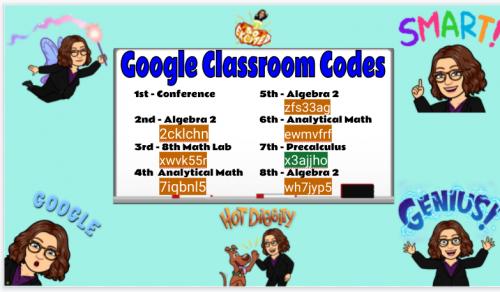 Classroom Codes