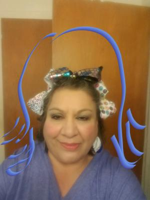 Mrs.Barragan Crazy Hair Day