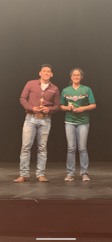 Best Actor and Best Actress District Competition