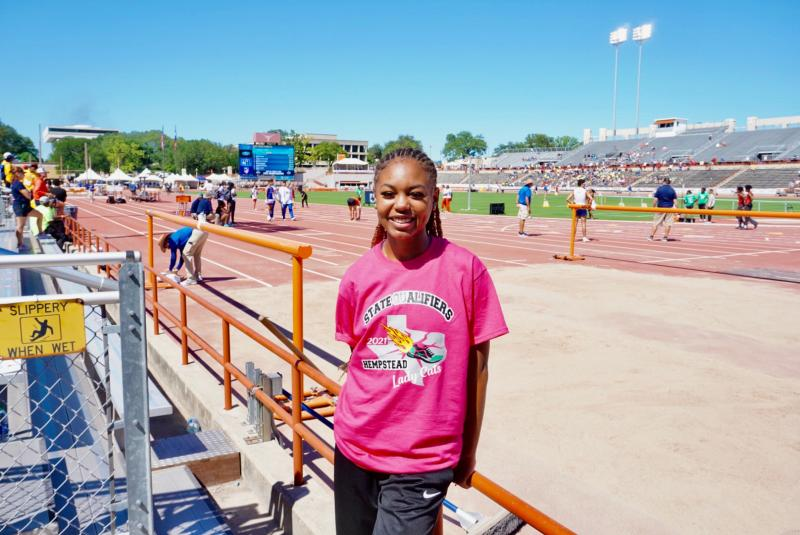 London runs PR time, finishes fourth at state