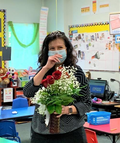 Teach of the Year Martha Arredondo