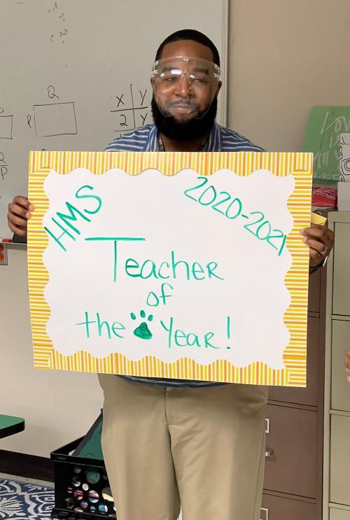 teach of year isaiah mcgahee
