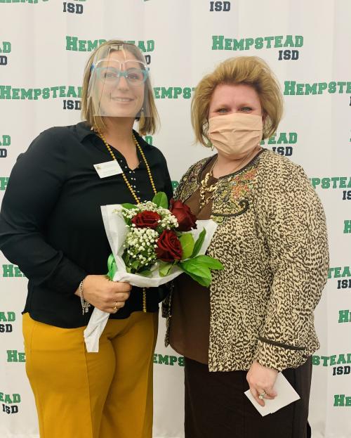 HISD Elementary Principal of the Year is Keri Houston.
