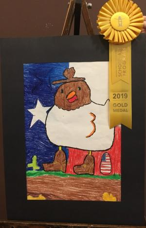 Gold Medal Winner - Texas Chicken