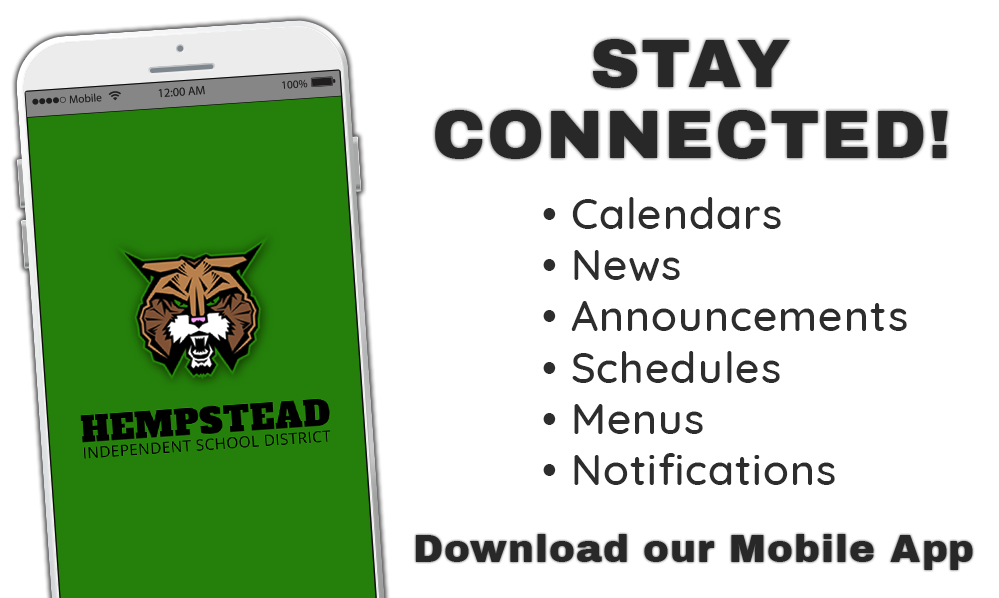 Stay Connected with our mobile app