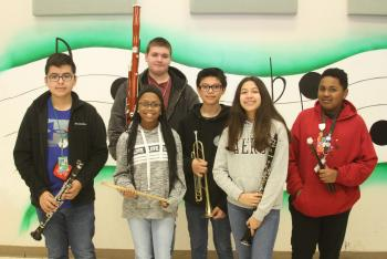 HMS Musicians do well at Regional UIL Solo & Ensemble
