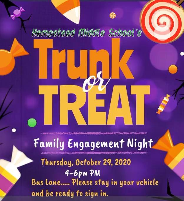 HMS Trunk-or-Treat Oct. 29 4-6 p.m.