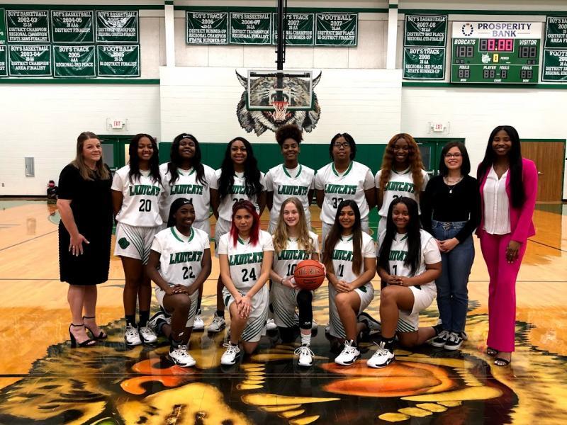 LadyCats Finish Basketball Season as Bi-District Finalists