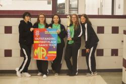 HHS Color Guard Headed to Nationals