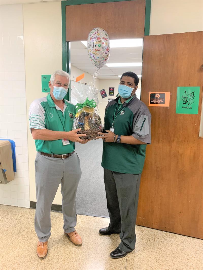 HHS names Mel Daigle Teacher of the Year