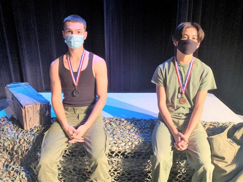 Bobcat Actors Impress at One Act Play Contest