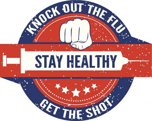 Knock out the flu, stay healthy, get the shot.