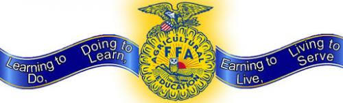 FFA Learning to Do, Doing to Learn, Earning to Live, Living to Serve
