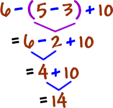 solving order of operations