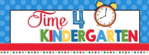 Time for Kindergarten