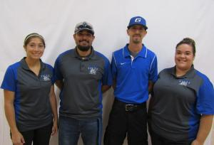 Physical Education - Ms. Shelby Garcia, Mr. Vicente Rodriguez, Mr. Danny Porras, Mrs. Lizette Garza