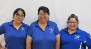 Pre-Kindergarten Teacher Aides - Lavern Gonzalez, Soulema Garza, Tiffany Alaniz (Not pictured: Maria Mendez)