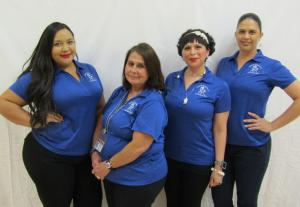 Kindergarten Teacher Aides - Melanie Zamora, Elvia Perez, Sarah Cantu, Roxanne Ramirez (Not Pictured: Barbara Marquez)