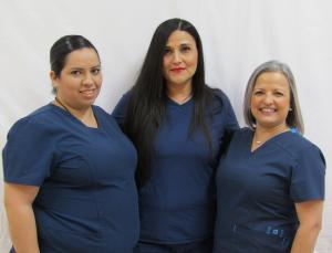 Nurses - Michelle Ramirez, CNA, Edith Hernandez, LVN,  Delma De La Cruz, CMA