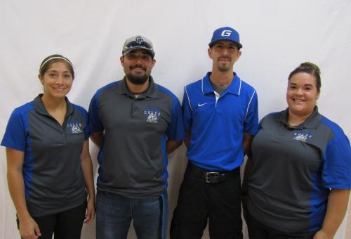 Ms. Shelby Garcia, Mr. Vicente Rodriguez, Mr. Danny Porras, Mrs. Lizette Garza
