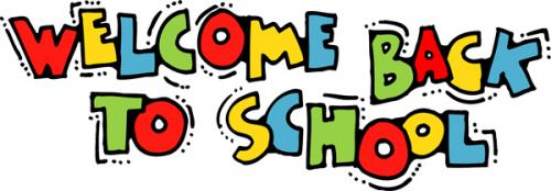 welcome back to school banner