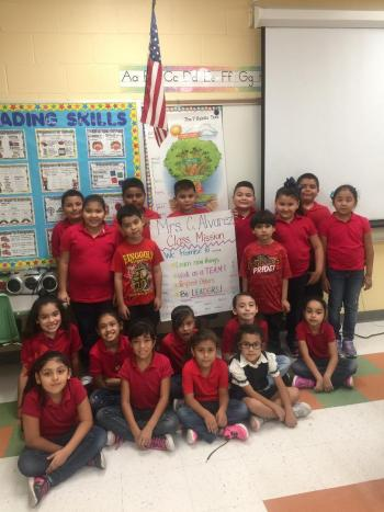 Our Class Mission Picture