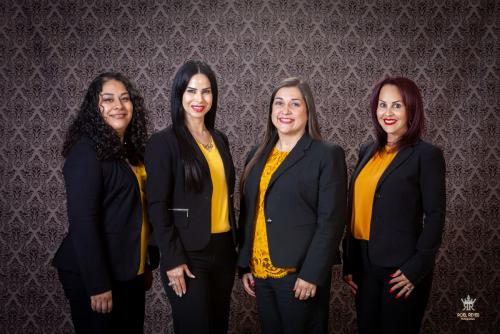 Sandra Guerrero, Idani Salinas, Adriana Gonzalez, Jessica Saenz