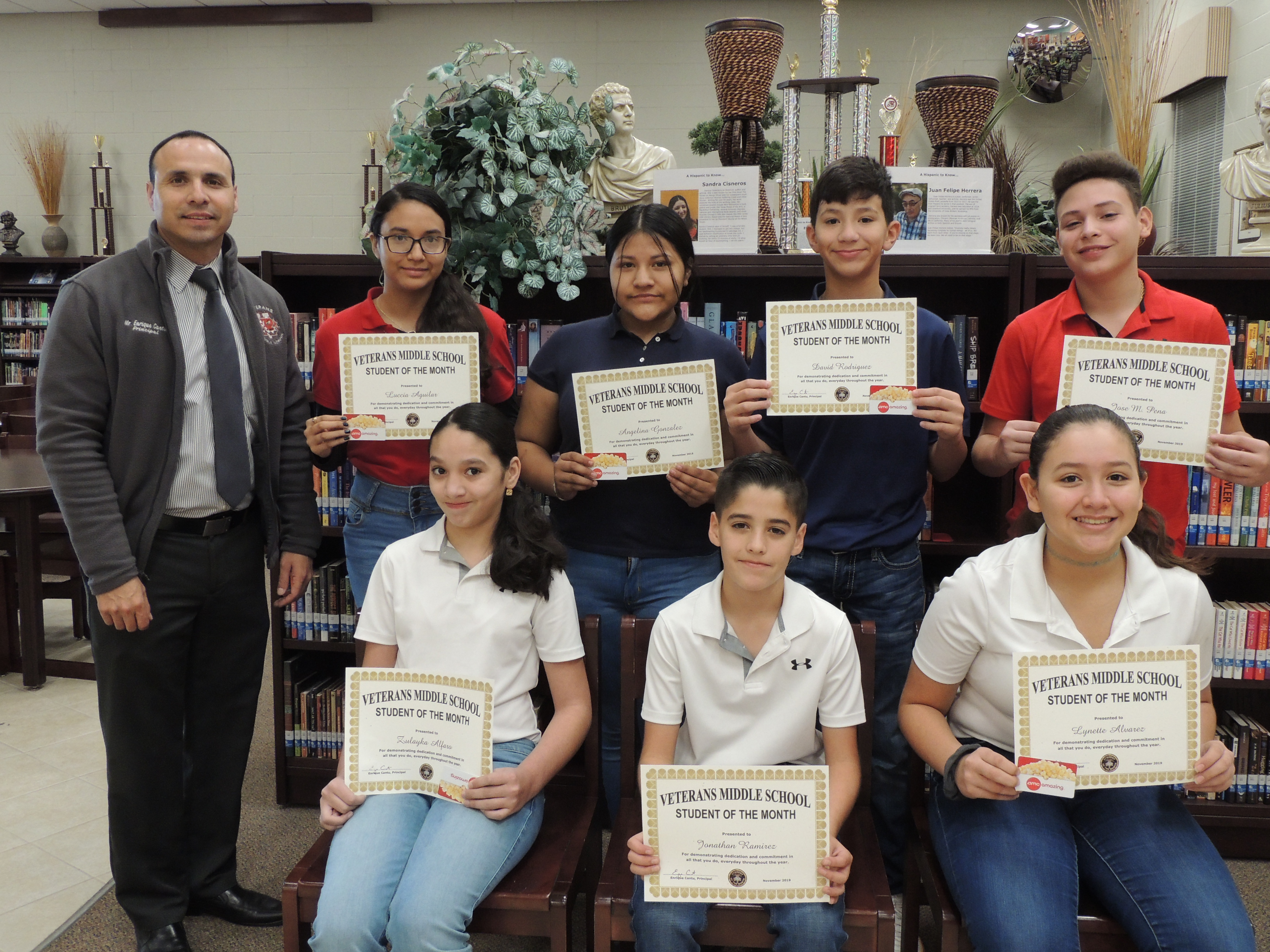 November - Students of the Month