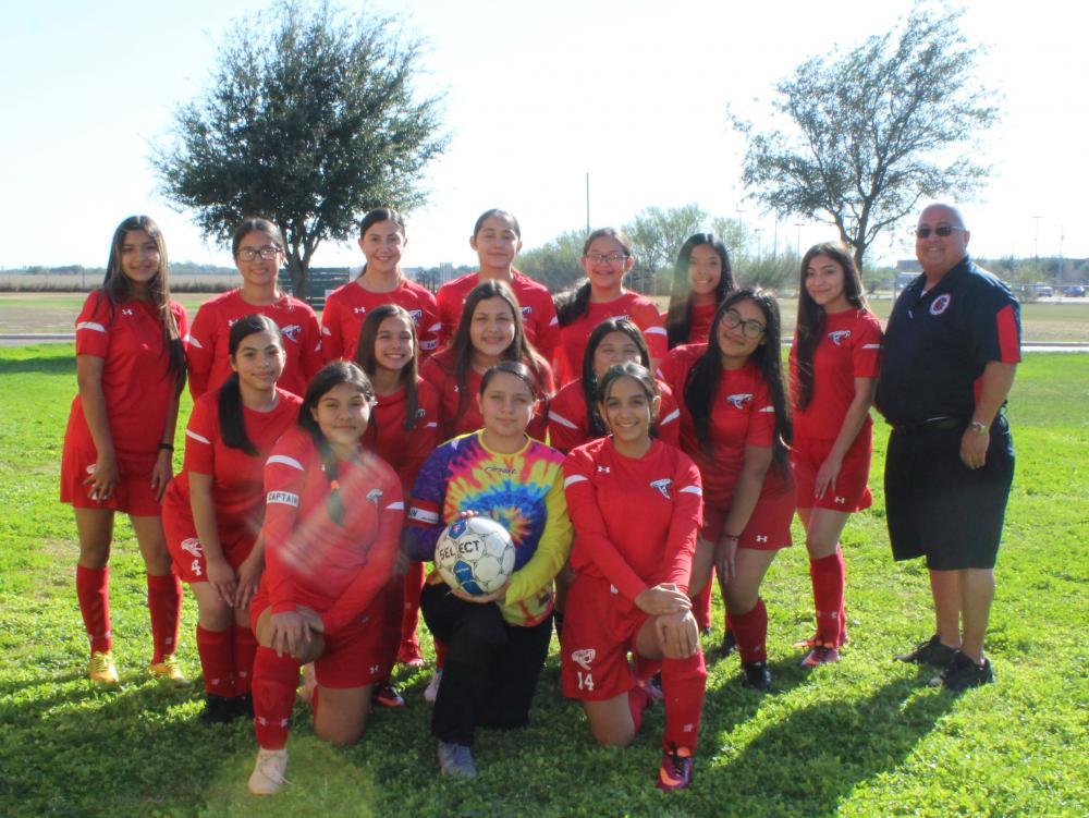 19-20 Girls Soccer Team