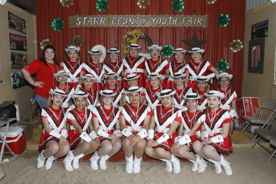 Starlettes at the Starr County Fair