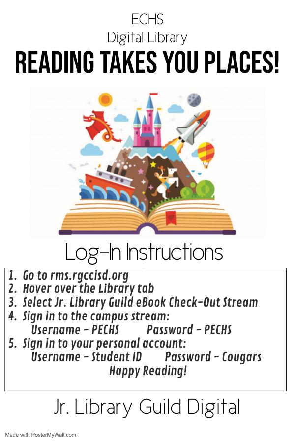 Jr. Library Guild Instructions