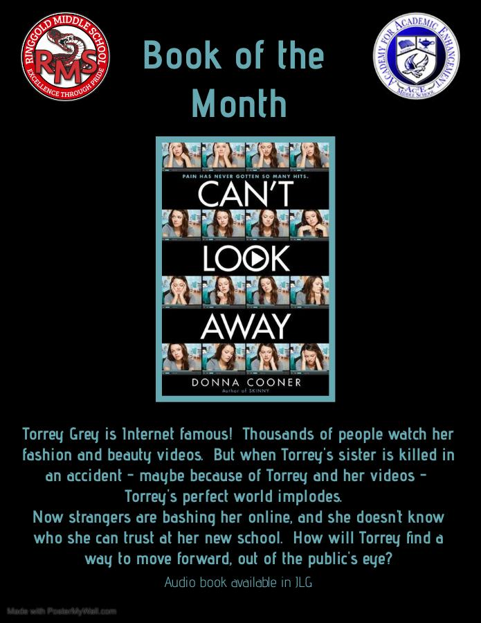 RMS / Ac2E February Book of the Month