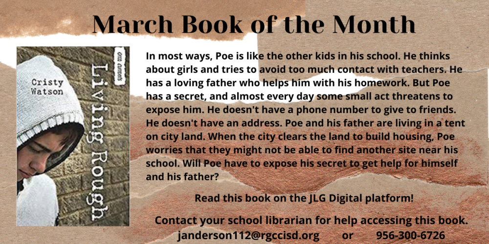March Book of the Month - Living Rough